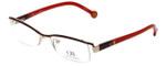 Carolina Herrera Designer Reading Glasses VHE014-0307 in Red 53mm