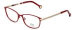 Carolina Herrera Designer Reading Glasses VHE059-08LP in Bright Red 54mm
