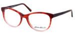 Eddie Bauer Designer Eyeglasses EB8295 in Matte-Burgundy Fade 52mm :: Custom Left & Right Lens