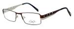 Dale Earnhardt, Jr. Designer Eyeglasses DJ6707 in Brown-Silver 52mm :: Custom Left & Right Lens