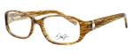 Dale Earnhardt, Jr. Designer Eyeglasses DJ6749 in Brown 55mm :: Custom Left & Right Lens