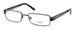 Dale Earnhardt, Jr. Designer Eyeglasses DJ6731 in Satin-Black 53mm :: Rx Single Vision