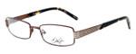 Dale Earnhardt, Jr. Designer Eyeglasses DJ6737 in Brown 52mm :: Rx Single Vision