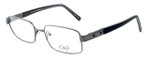 Dale Earnhardt, Jr. Designer Eyeglasses DJ6739 in Gunmetal 55mm :: Rx Single Vision