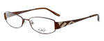 Dale Earnhardt, Jr. Designer Eyeglasses DJ6742 in Brown 53mm :: Rx Single Vision