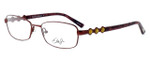 Dale Earnhardt, Jr. Designer Eyeglasses DJ6743 in Burgundy 53mm :: Rx Single Vision