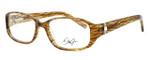 Dale Earnhardt, Jr. Designer Eyeglasses DJ6749 in Brown 55mm :: Rx Single Vision