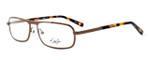 Dale Earnhardt, Jr. Designer Eyeglasses DJ6760 in Brown 57mm :: Rx Single Vision