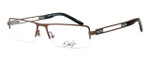 Dale Earnhardt, Jr. Designer Eyeglasses DJ6744 in Brown 54mm :: Progressive