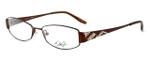 Dale Earnhardt, Jr. Designer Eyeglasses DJ6742 in Brown 53mm :: Rx Bi-Focal
