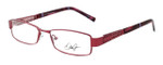 Dale Earnhardt, Jr. Designer Reading Glasses DJ6772 in Burgundy 53mm