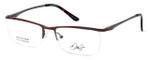 Dale Earnhardt, Jr. Designer Reading Glasses DJ6917 in Brown 52mm