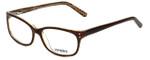 Seventeen Designer Eyeglasses SV5398-BRN in Brown 50mm :: Custom Left & Right Lens