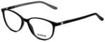 Seventeen Designer Eyeglasses SV5404-MBK in Matte Black/Grey 51mm :: Custom Left & Right Lens