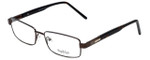 Big and Tall Designer Eyeglasses Big-And-Tall-5-Brown in Brown 58mm :: Rx Single Vision