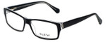 Big and Tall Designer Eyeglasses Big-And-Tall-9-Black-Crystal in Black Crystal 60mm :: Rx Single Vision