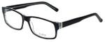 Big and Tall Designer Eyeglasses Big-And-Tall-3-Black-Crystal in Black Crystal 60mm :: Rx Bi-Focal