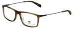 Argyleculture Designer Eyeglasses Seger in Olive 54mm :: Custom Left & Right Lens