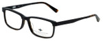 Argyleculture Designer Eyeglasses Mack in Black Tortoise 55mm :: Rx Single Vision