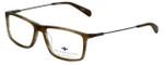 Argyleculture Designer Eyeglasses Seger in Olive 54mm :: Progressive