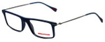 Prada Sport Designer Eyeglasses VPS03E-TFY1O1 in Matte Blue 51mm :: Custom Left & Right Lens