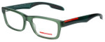 Prada Sport Designer Eyeglasses VPS07C-SMK1O1 in Matte Green 55mm :: Custom Left & Right Lens