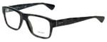 Prada Designer Eyeglasses VPR17S-UEM1O1 in Dark Green Tortoise 53mm :: Rx Single Vision