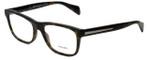 Prada Designer Eyeglasses VPR19P-HAQ1O1 in Matte Tortoise 55mm :: Rx Single Vision