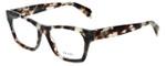 Prada Designer Eyeglasses VPR22S-UAO1O1 in Spotted Opal Brown 52mm :: Rx Single Vision