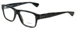 Prada Designer Eyeglasses VPR17S-UEM1O1 in Dark Green Tortoise 53mm :: Progressive