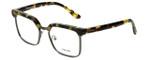 Prada Designer Eyeglasses VPR15S-UBL1O1 in Yellow Havana 52mm :: Rx Bi-Focal