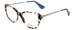 Prada Designer Reading Glasses VPR28S-UAO1O1 in Blue Havana 54mm