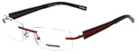 Renoma Designer Eyeglasses R1008-3510 in Red 52mm :: Custom Left & Right Lens