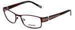 Renoma Designer Eyeglasses R1026-7215 in Wine 54mm :: Rx Single Vision