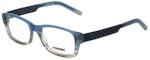Renoma Designer Eyeglasses R1036-2022 in Blue Smoke 53mm :: Rx Single Vision