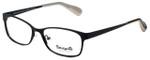 Betsey Johnson Designer Eyeglasses Gingham BV106-01 in Raven 51mm :: Rx Single Vision