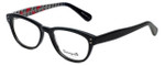 Betsey Johnson Designer Eyeglasses Pinwheel BV114-01 in Black 52mm :: Rx Single Vision