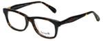 Betsey Johnson Designer Eyeglasses Tattoo BV112-02 in Espresso 52mm :: Rx Bi-Focal