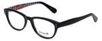 Betsey Johnson Designer Eyeglasses Pinwheel BV114-01 in Black 52mm :: Rx Bi-Focal