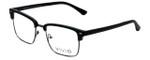 Calabria Viv Designer Eyeglasses Vivid-257 in Black 52mm :: Custom Left & Right Lens