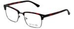 Calabria Viv Designer Eyeglasses Vivid-257 in Demi Red 52mm :: Custom Left & Right Lens