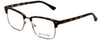 Calabria Viv Designer Eyeglasses Vivid-257 in Tortoise 52mm :: Rx Single Vision