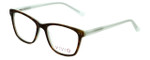 Vivid Designer Eyeglasses Vivid-878 in Tortoise-Green 51mm :: Rx Single Vision