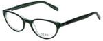 Ecru Designer Eyeglasses Daltrey-007 in Green 50mm :: Progressive