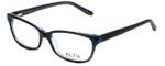 Ecru Designer Eyeglasses Beck-023 in Black 53mm :: Progressive