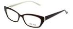 Ecru Designer Eyeglasses Bowie-002 in Brown 50mm :: Progressive