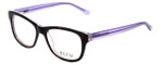Ecru Designer Eyeglasses Morrison-049 in Tortoise-Purple 51mm :: Rx Single Vision