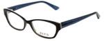 Ecru Designer Eyeglasses Ferry-032 in Cerulean 53mm :: Progressive