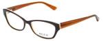 Ecru Designer Eyeglasses Ferry-035 in Au Lait 53mm :: Progressive
