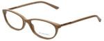 Burberry Designer Eyeglasses B2103-3281-53 in Nude 53mm :: Custom Left & Right Lens